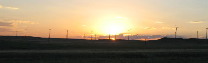 Windmill Sunset - Sidney, Nebraska